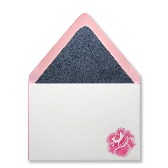 Simple Rose Stationery (S)