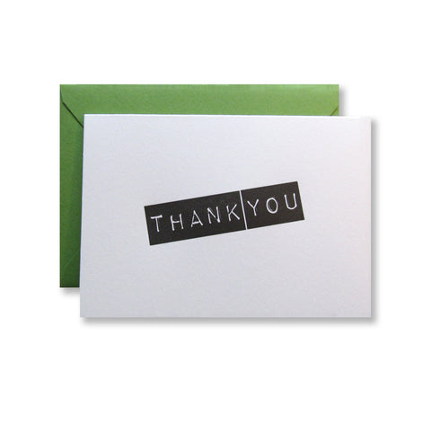 Sanders Thank You Cards