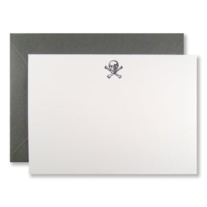 Skull Stationery (L) {Custom}