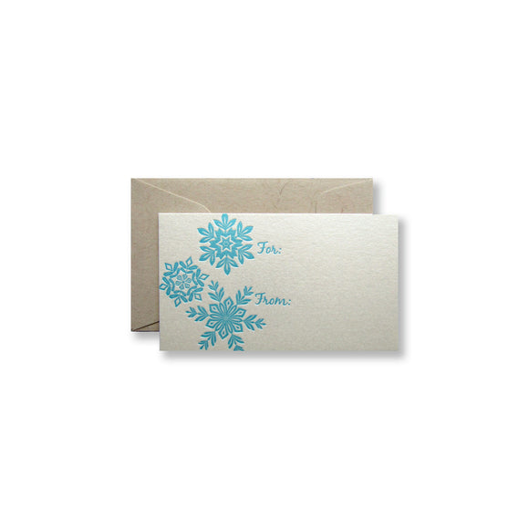 Snowflake Gift Enclosures