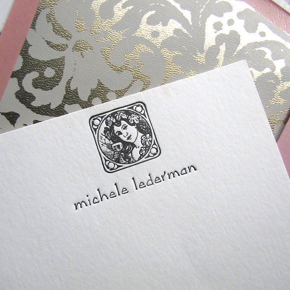 Wine Lady's Personal Stationery (M)