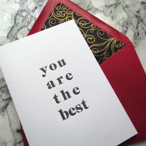 You Are the Best Cards