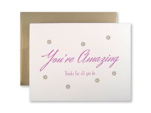 You're Amazing Cards {Custom}