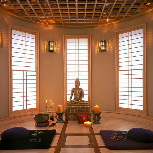 Create an Inspiring Meditation Area  in 5 Easy Steps