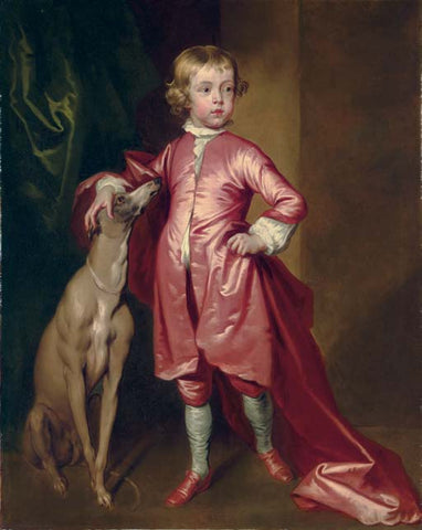 Painter John Vanderbank's 1694 portrait of a boy.
