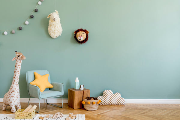 Soft green-blues like Salty Brine (C2-701) creates a tranquil environment