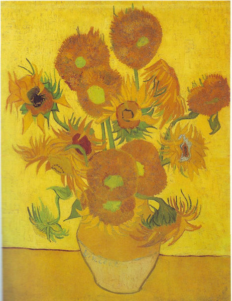 Still Life: Vase with Fifteen Sunflowers, 1888