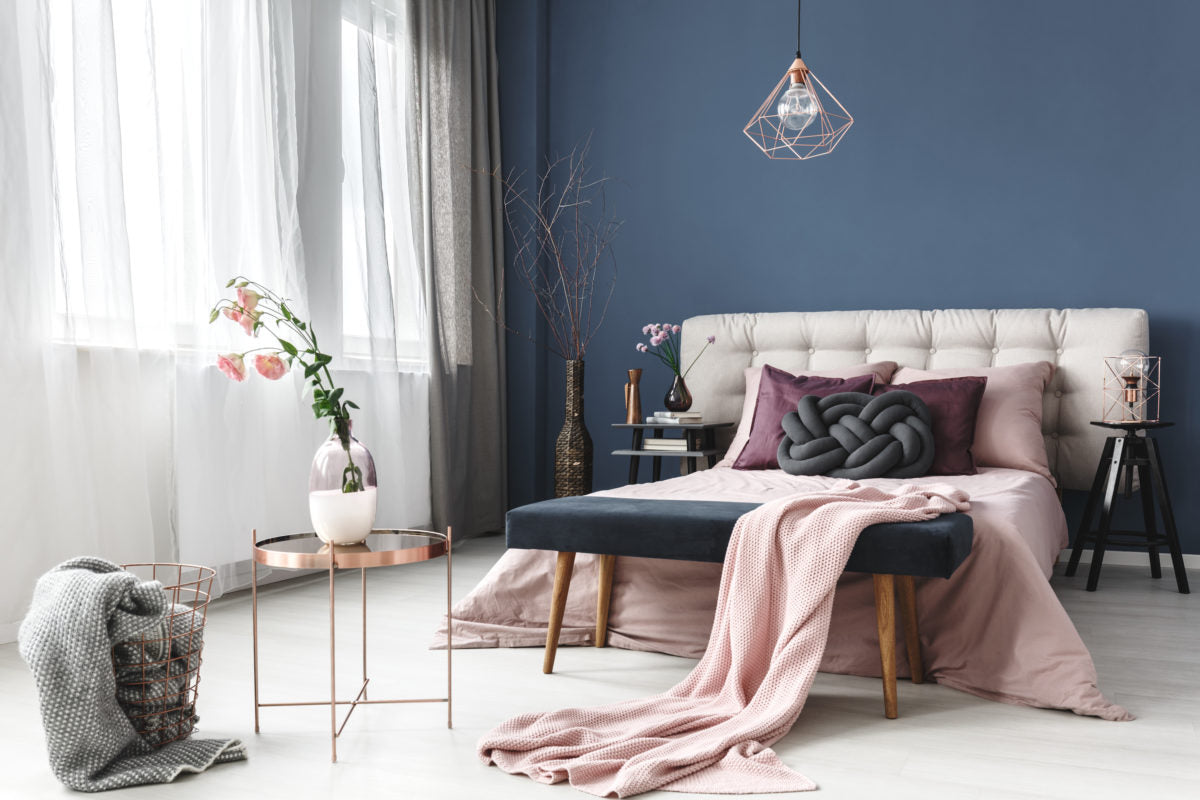 Escape To Dreamland With These Calming Bedroom Colors C2 Paint