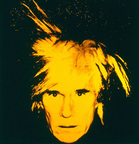 Pop Art Icon Andy Warhol, Self Portrait 1986