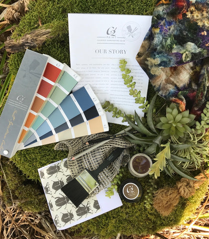 Full spectrum paint color reflects the beauty of nature