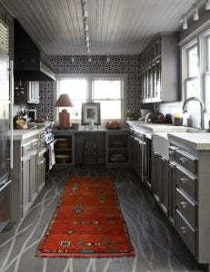 Painting cabinets tell a color story in your kitchen