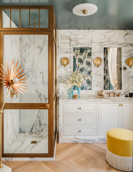 Path (C2-680) high Gloss ceiling by Julie Rootes Interiors for the 2019 SF Showhouse