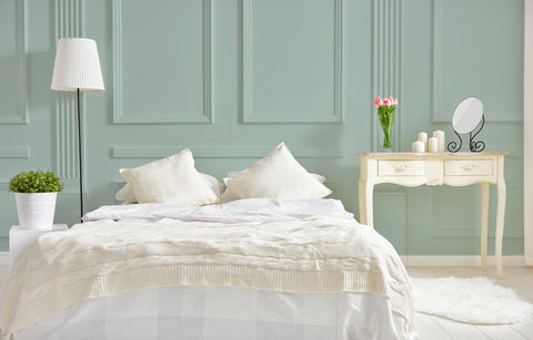 Salty Brine is the perfect bedroom color