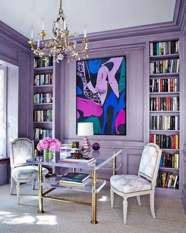 Take color risks in your personal space
