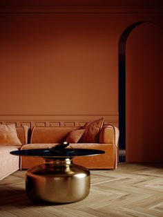 Terracottas like Berry Brown or Tofino create an earthy yet contemporary backdrop