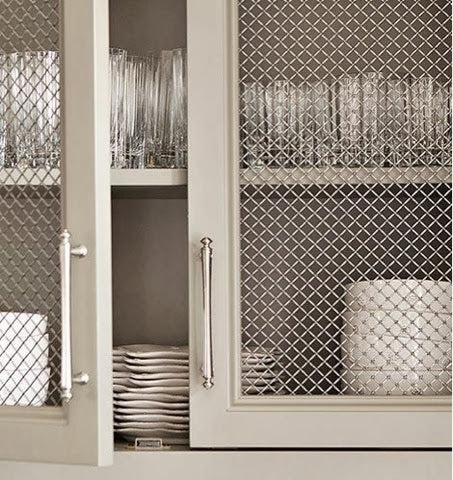 metal grates add an easy decorative accent