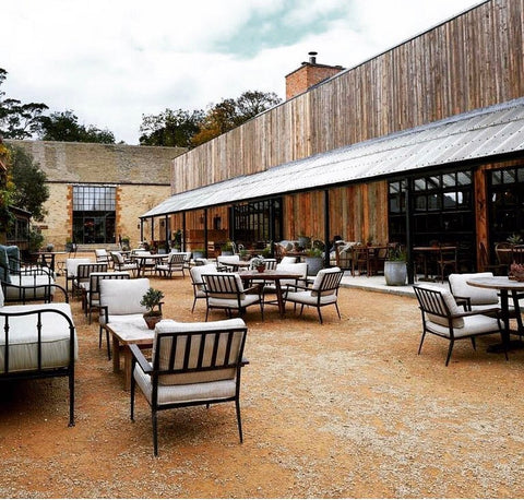 The Soho Farmhouse in the UK is a perfect example of this upscale cottagecore style.