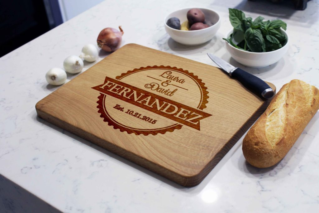 Personalized Wooden Cutting Board - Fernandez - The Realty Depot