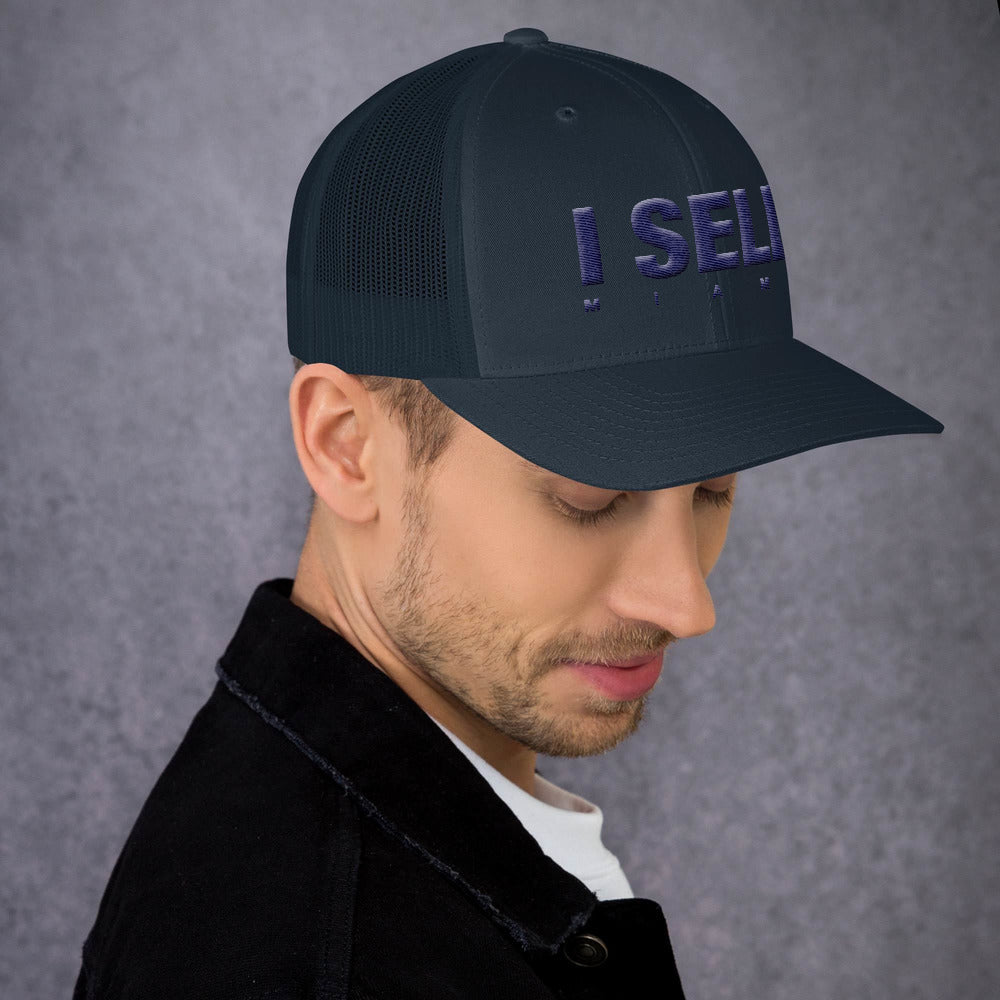 I Sell Miami 3D Puff Trucker Mesh Cap V1 - The Realty Depot