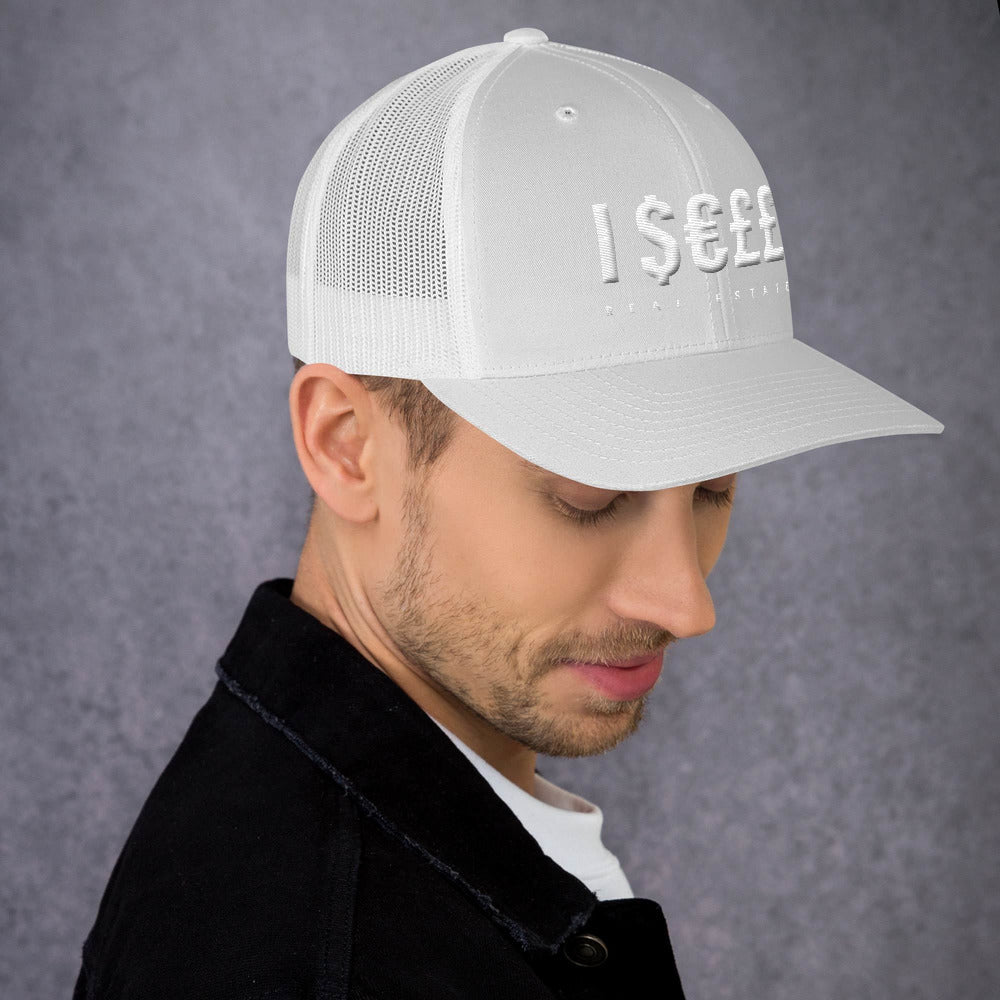 I $€££ (Sell) Real Estate 3D Puff Trucker Mesh Cap v.1 - The Realty Depot
