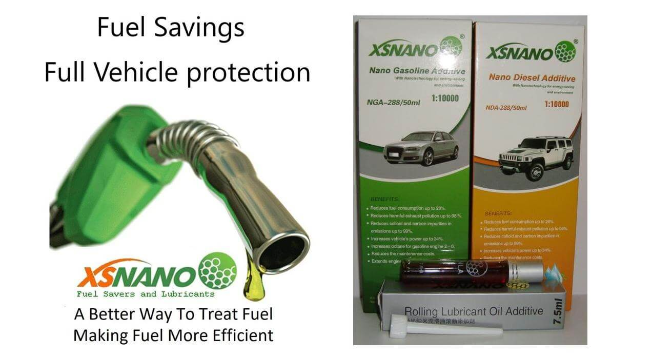 XSNANO making fuel and oil more efficient