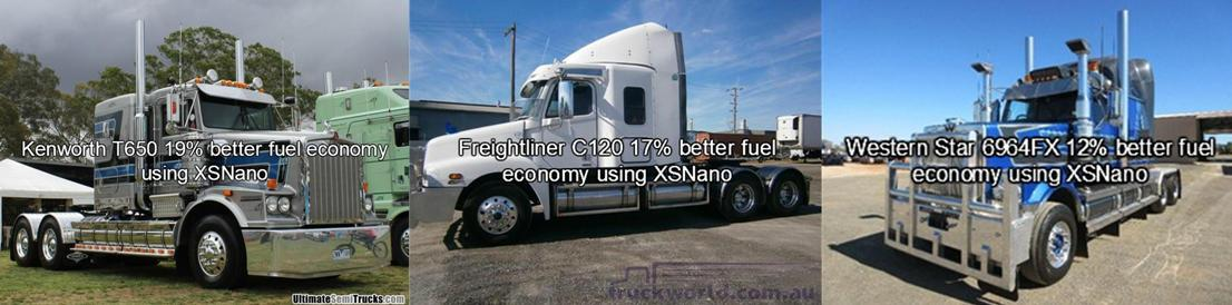 Trucks get big fuel savings using XSNANO
