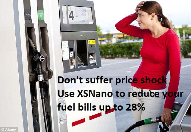 Reduce fuel costs with XSNANO fuel additives
