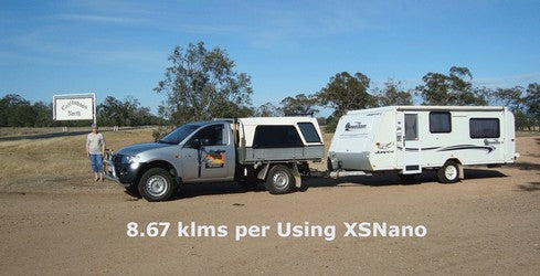Triton getting great fuel savings with XSNANO