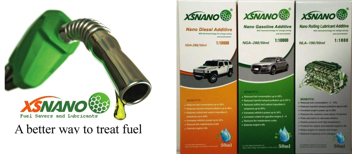 XSNANO is a better way to treat fuel and oil