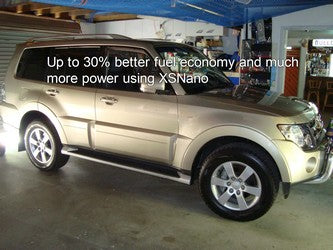 30% fuel savings using XSNANO in my Pajero