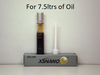 Just 7.5 ml treats 7.5 ltrs of Oil with XSNano 7.5ml NLA