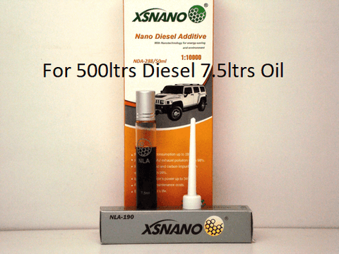 Diesel and Oil Starter Pack - Lubrication Solutions P/L - XSNANO - Bi-Tron Australia