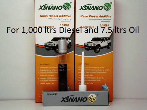XSNANO Diesel and Oil treatment