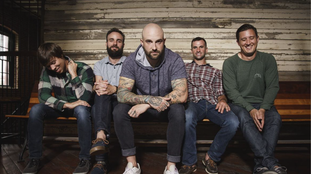August Burns Red Group Photo
