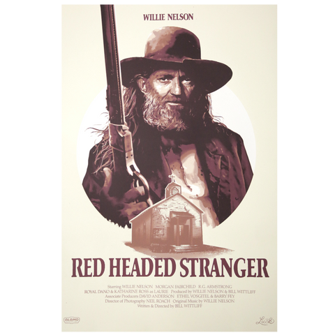 Luck Reunion | Red Headed Stranger Limited Edition Screen Print