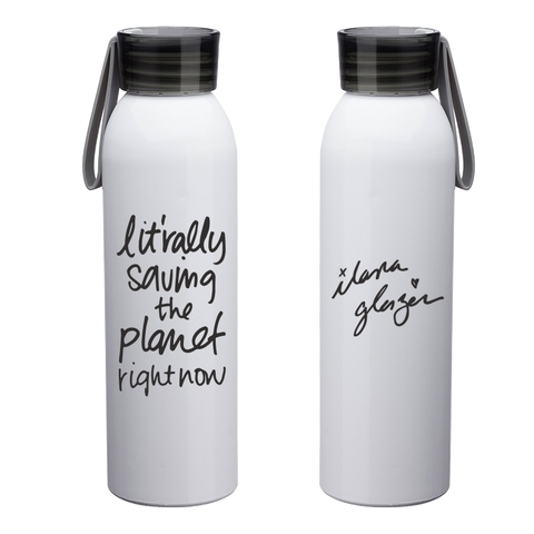 Ilana Glazer | Lit'rally Saving the Planet Right Now Reusable Water Bottle