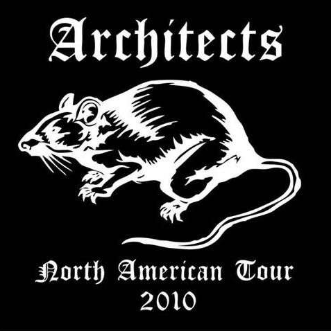 Architects | Black Rat Canvas Patch