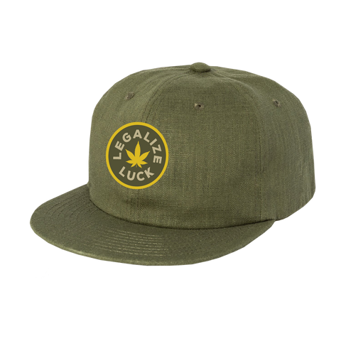 Luck Reunion | Legalize Luck Patch Hemp Hat -PREORDER-