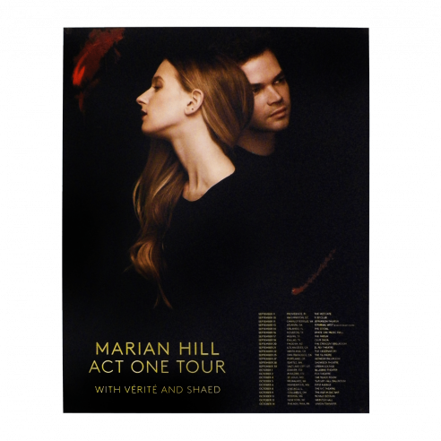 Marian Hill Act One Tour Poster