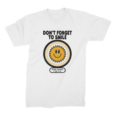 Andy Frasco | Don't Forget To Smile T-Shirt