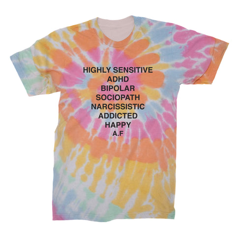 Andy Frasco | Tie Dye T-Shirt *PREORDER*