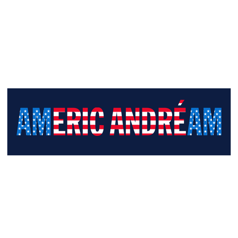 "Eric Andre | ""American Dream"" Bumper Sticker"