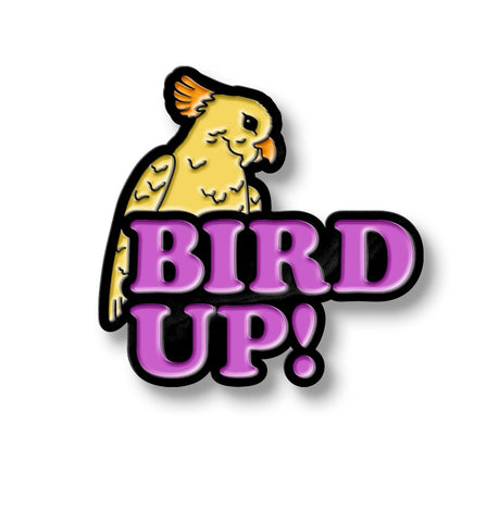 Eric Andre Bird Up Pin