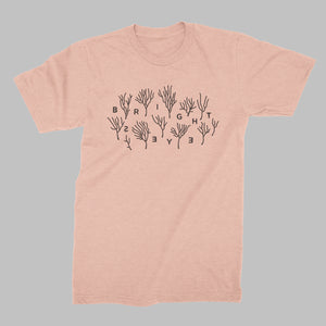 Bright Eyes | Coral T-Shirt - Coral *PREORDER*
