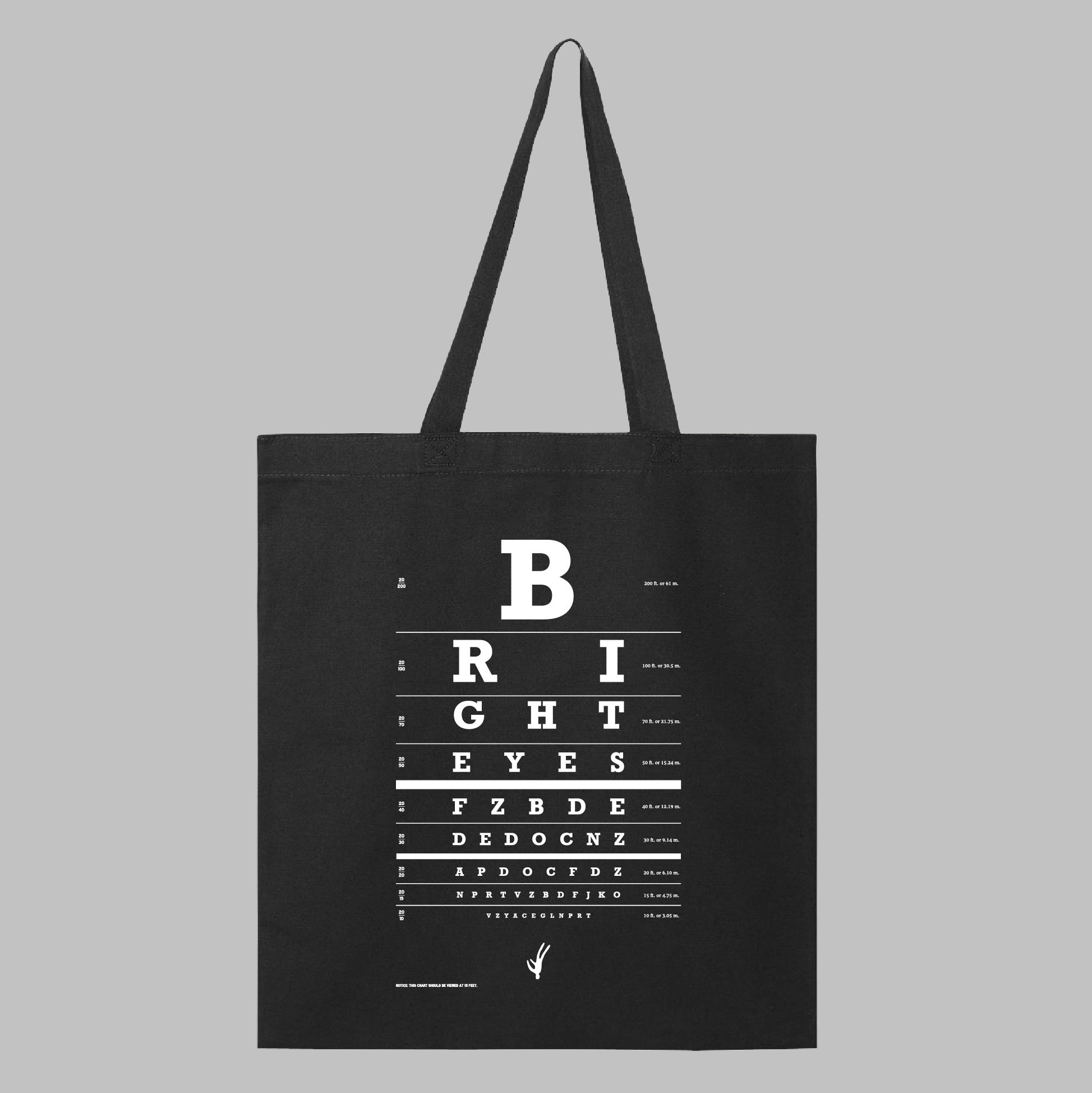 Bright Eyes | Eyechart Tote Bag