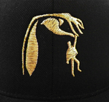"Marian Hill ""Back to Me"" hat embroidery close up"