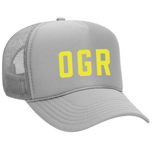 Omaha Girls Rock | OGR Hat - Grey *PREORDER*