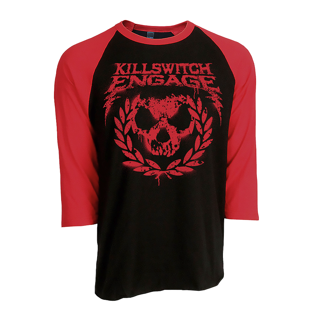 Killswitch Engage | Skull Wreath Raglan T-Shirt