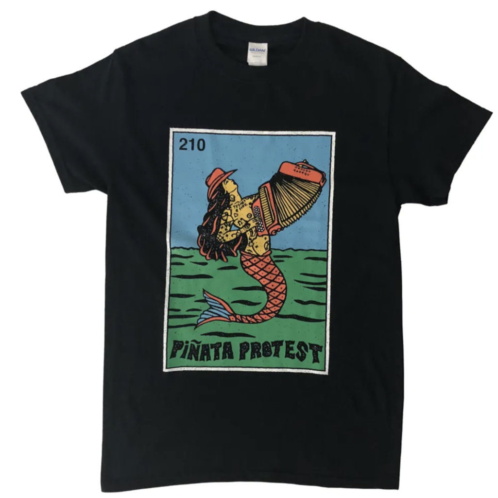 Piñata Protest | Sirena Mermaid T-Shirt - Full Color