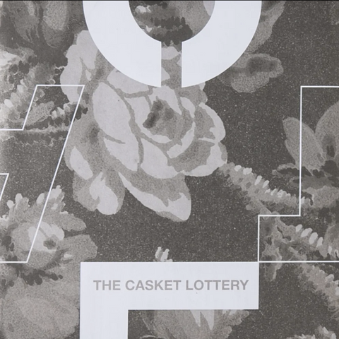 The Casket Lottery | Touché Amoré/The Casket Lottery Split EP - Greyscale Floral
